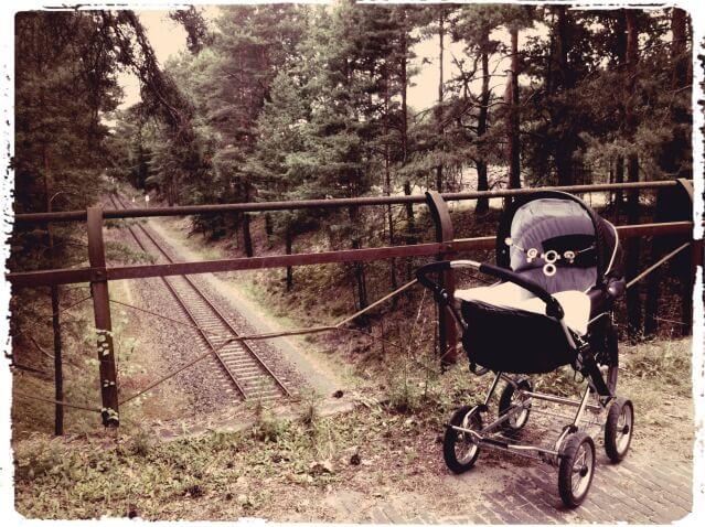 Kinderwagen_Spaziergang_Wald