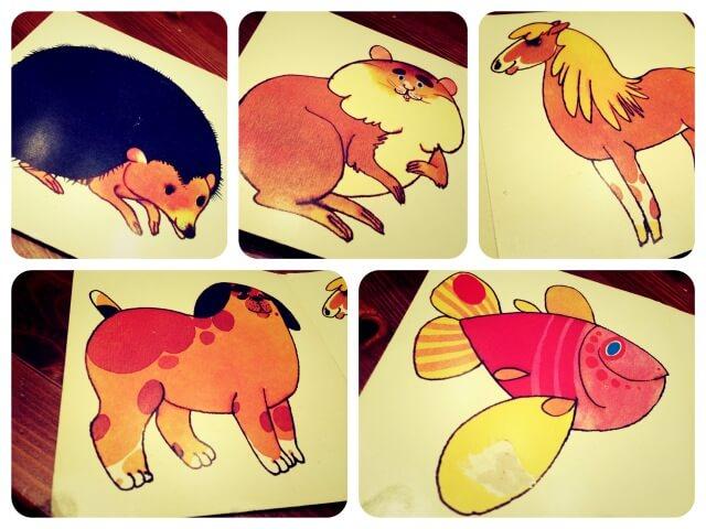 Tierbilderbuch_Collage