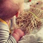 18 Wochen Baby M. – 18 Wochen zu viert – 4 Monate alt